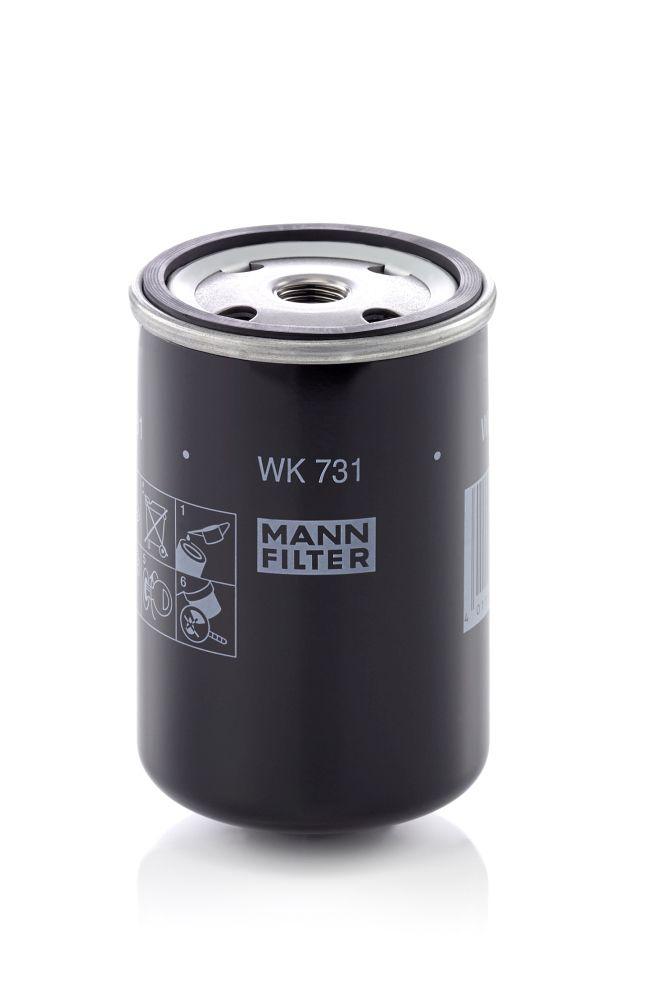 WK 731 MANN-FILTER Kraftstofffilter für IVECO TurboStar jetzt kaufen