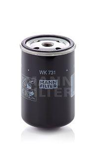 Kraftstofffilter MANN-FILTER WK 731 mit 31% Rabatt kaufen