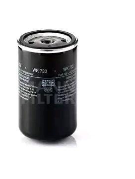 WK 733 MANN-FILTER Filtre à carburant pour VOLVO N 7 - à acheter dès maintenant