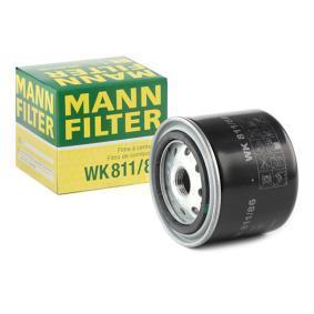 WK 811/86 MANN-FILTER Höhe: 74mm Kraftstofffilter WK 811/86 günstig kaufen