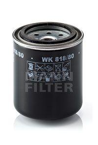 MANN-FILTER: Original Kraftstofffilter WK 818/80 (Höhe: 92mm)