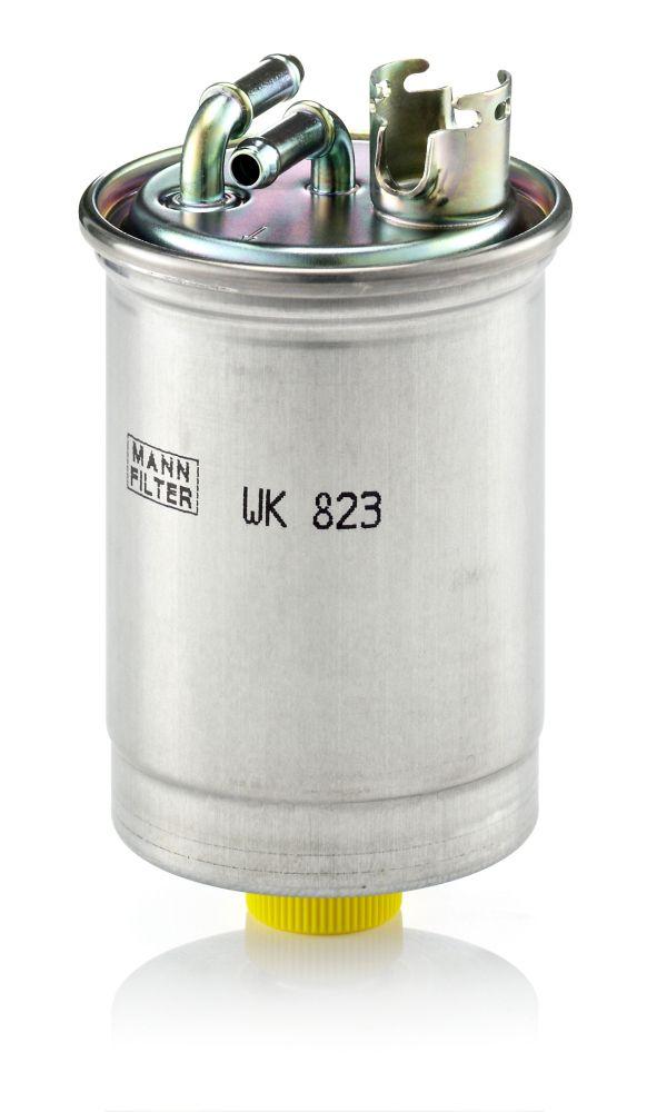 Palivový filtr WK 823 s vynikajícím poměrem mezi cenou a MANN-FILTER kvalitou