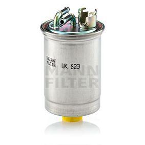 WK 823 MANN-FILTER Výška: 133mm Palivovy filtr WK 823 kupte si levně
