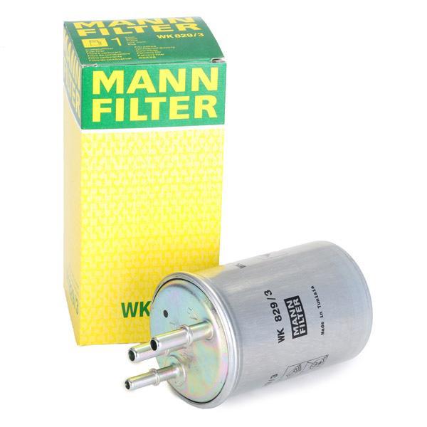 WK 829/3 Горивен филтър MANN-FILTER - опит