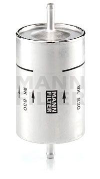 MANN-FILTER: Original Benzinfilter WK 830 (Höhe: 164mm)