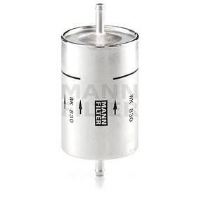 WK 830 MANN-FILTER Höhe: 164mm Kraftstofffilter WK 830 günstig kaufen