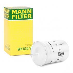 WK8307 Bränslefilter MANN-FILTER WK 830/7 Stor urvalssektion — enorma rabatter