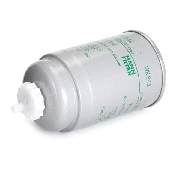 WK 842 Fuel filter MANN-FILTER - Cheap brand products