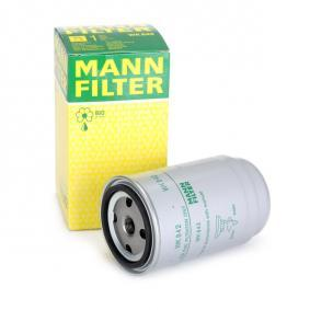 WK 842 MANN-FILTER Height: 156mm Fuel filter WK 842 cheap