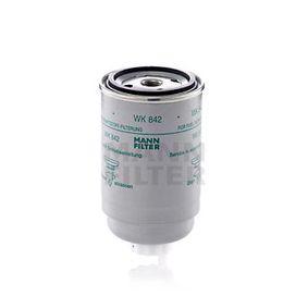 WK 842 Degvielas filtrs MANN-FILTER - Lēti zīmolu produkti
