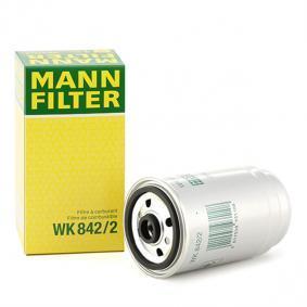WK 842/2 MANN-FILTER Höhe: 158mm Kraftstofffilter WK 842/2 günstig kaufen