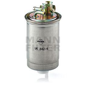 WK 842/4 Üzemanyagszűrő MANN-FILTER - Olcsó márkás termékek