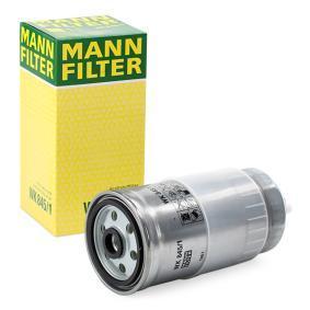 Pirkti WK 845/1 MANN-FILTER aukštis: 187mm Kuro filtras WK 845/1 nebrangu