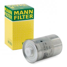 WK 853 MANN-FILTER Height: 152mm Fuel filter WK 853 cheap