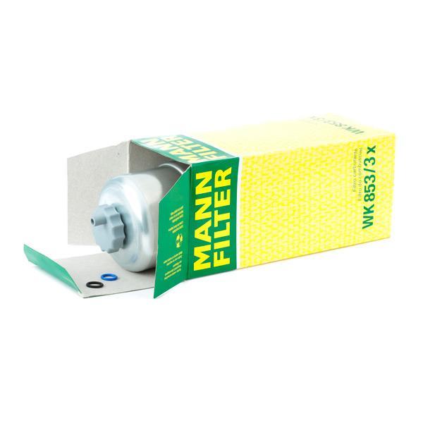 WK 853/3 x Degvielas filtrs MANN-FILTER Test