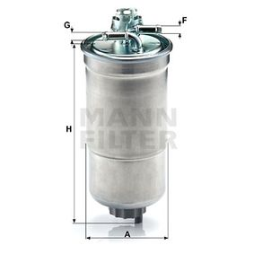 WK853/3x Fuel filter MANN-FILTER - Experience and discount prices