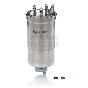 WK853/3x Polttoainesuodatin MANN-FILTER - Kokemusta alennushintaan