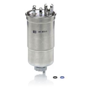 WK853/3x Filtro de combustível MANN-FILTER - Experiência a preços com desconto