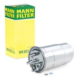 WK 853/3 x Palivovy filtr MANN-FILTER originální kvality