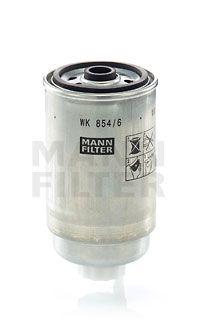 MANN-FILTER: Original Dieselfilter WK 854/6 (Höhe: 158mm)