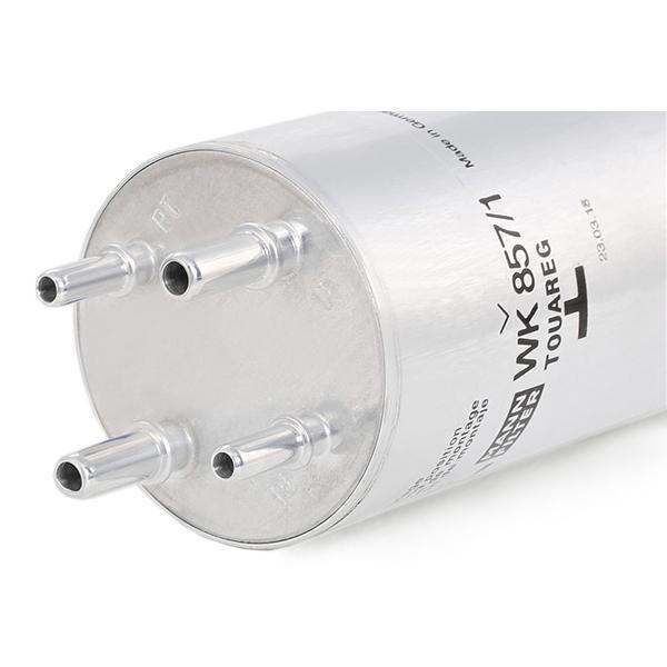 WK8571 Leitungsfilter MANN-FILTER WK 857/1 - Große Auswahl - stark reduziert
