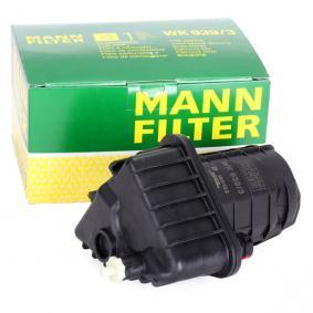 WK9393 Leitungsfilter MANN-FILTER WK 939/3 - Große Auswahl - stark reduziert