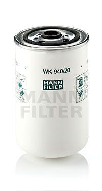 WK 940/20 MANN-FILTER Bränslefilter till RENAULT TRUCKS Midlum - köp dem nu