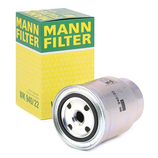 MANN-FILTER | Palivový filter WK 940/22