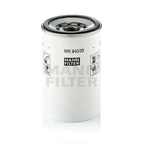 MANN-FILTER Bränslefilter WK 940/33 x - köp med 30% rabatt