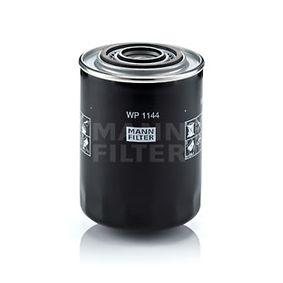 WP 1144 Alyvos filtras MANN-FILTER - Pigus kokybiški produktai