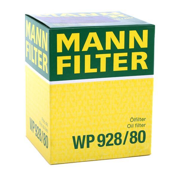 WP928/80 Oljefilter MANN-FILTER - Erfaring med lave priser