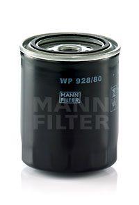 WP 928/80 Oljefilter MANN-FILTER Test