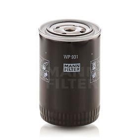 Ölfilter Mann-Filter WP 931