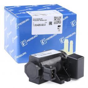 7.01420.02.0 PIERBURG Druckwandler, Turbolader 7.01420.02.0 günstig kaufen