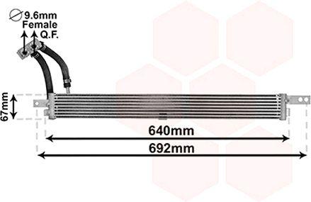 37003675 VAN WEZEL Ölkühler, Motoröl 37003675 günstig kaufen