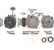 3700K659 VAN WEZEL Kompressor, Klimaanlage - online kaufen