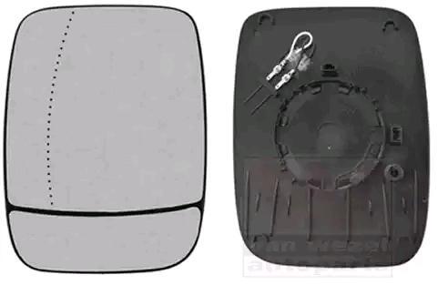 Rückspiegelglas VAN WEZEL 3891837