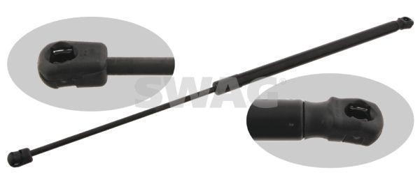40 92 7621 SWAG beidseitig, Ausschubkraft: 240N Gehäuselänge: 330,5mm, Länge: 602,5mm, Hub: 241,5mm Heckklappendämpfer / Gasfeder 40 92 7621 günstig kaufen