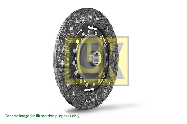 Clutch disc 323 0727 10 LuK — only new parts