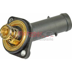 4006163 METZGER Öffnungstemperatur: 92°C, mit Dichtung, Kunststoffgehäuse Thermostat, Kühlmittel 4006163 günstig kaufen