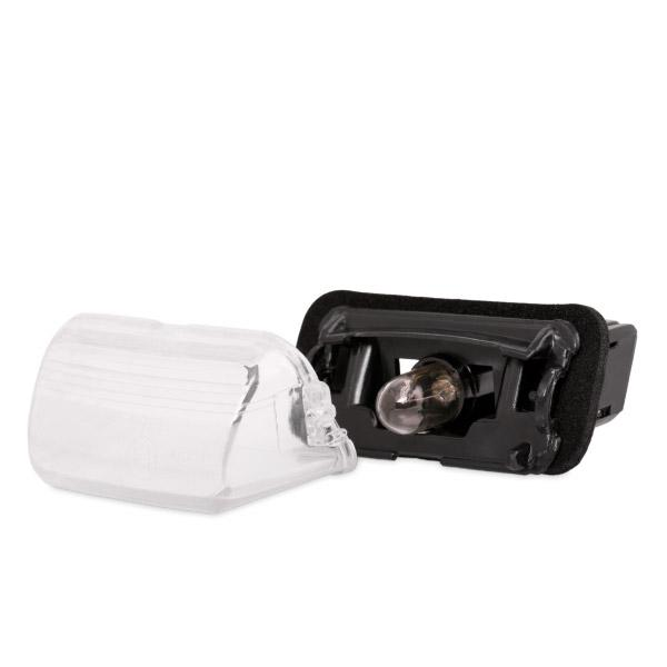Köp VAN WEZEL 4028920 - Nummerplåtsbelysning: till höger bak, vänster bak, med glödlampa