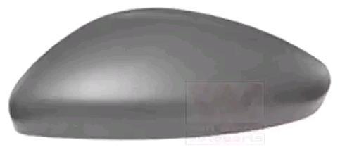 Peugeot 308 2014 Cover, outside mirror VAN WEZEL 4081843: Left, Primed