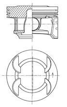KOLBENSCHMIDT: Original Motor Kolben 41492600 ()