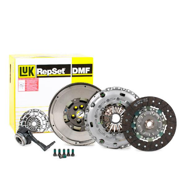 600 0017 00 LuK BR 0241 with central slave cylinder, without pilot bearing, with flywheel, with screw set, Requires special tools for mounting, Dual-mass flywheel with friction control plate Clutch Kit 600 0017 00 cheap