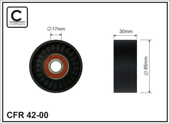 CAFFARO Strammehjul, kilerem til DAF - vare number: 42-00