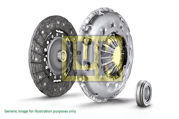 Köp LuK 624 3158 00 - Kopplingssats: för motorer med tvåmassesvänghjul, Kontrollera 2-massesvänghjul och byt vid behov., med utrampningslager, Specialverktyg krävs för montering Ø: 240mm