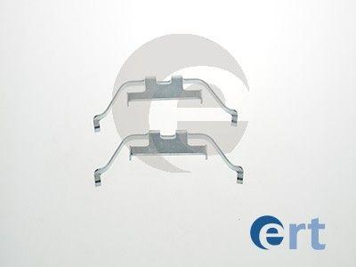 Tillbehörssats, skivbromsbelägg ERT 420059 Recensioner