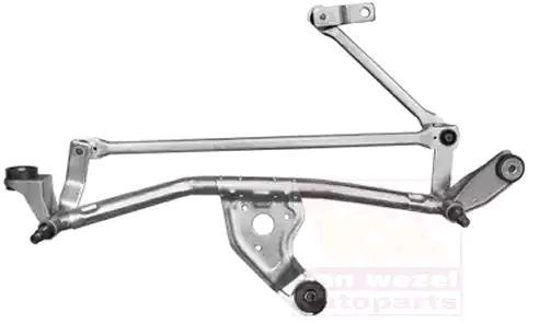 Купете 4327230 VAN WEZEL за автомобили с ляв волан, отпред, без електромотор Лостов механизъм на чистачките 4327230 евтино