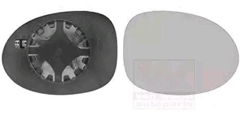 Rückspiegelglas 4343838 Renault TWINGO 1999