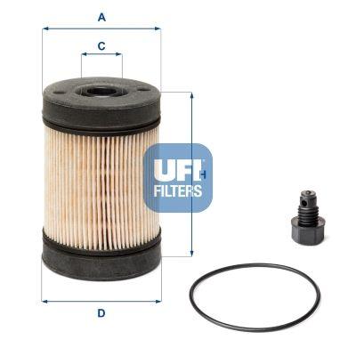 44.002.00 UFI Urea Filter: buy inexpensively